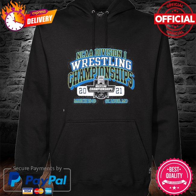 2021 ncaa division wrestling championships march 18 20 st louis mo hoodie black