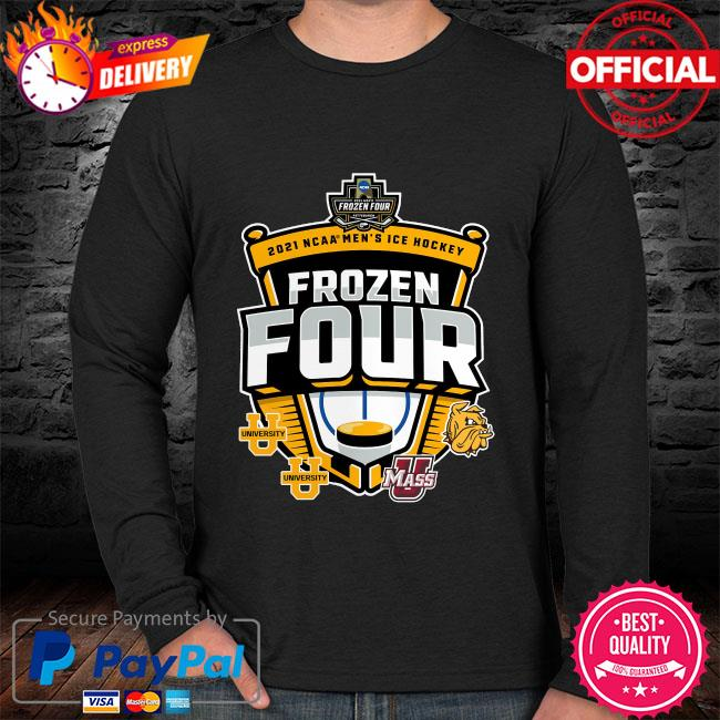 2021 ncaa men's hockey tournament frozen four sweater black