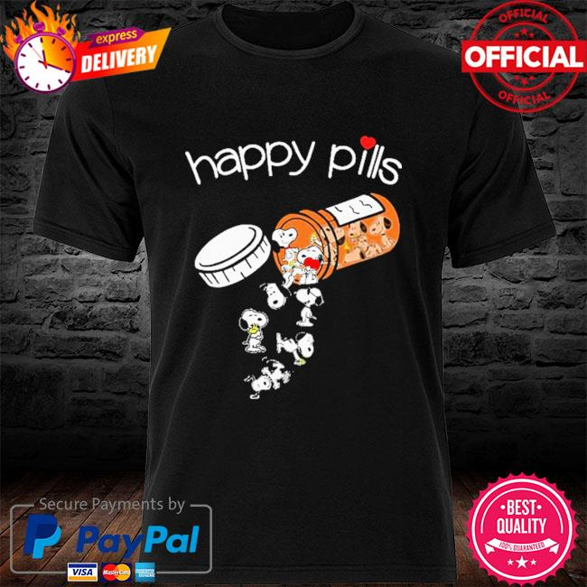 Official Snoopy happy Pills shirt