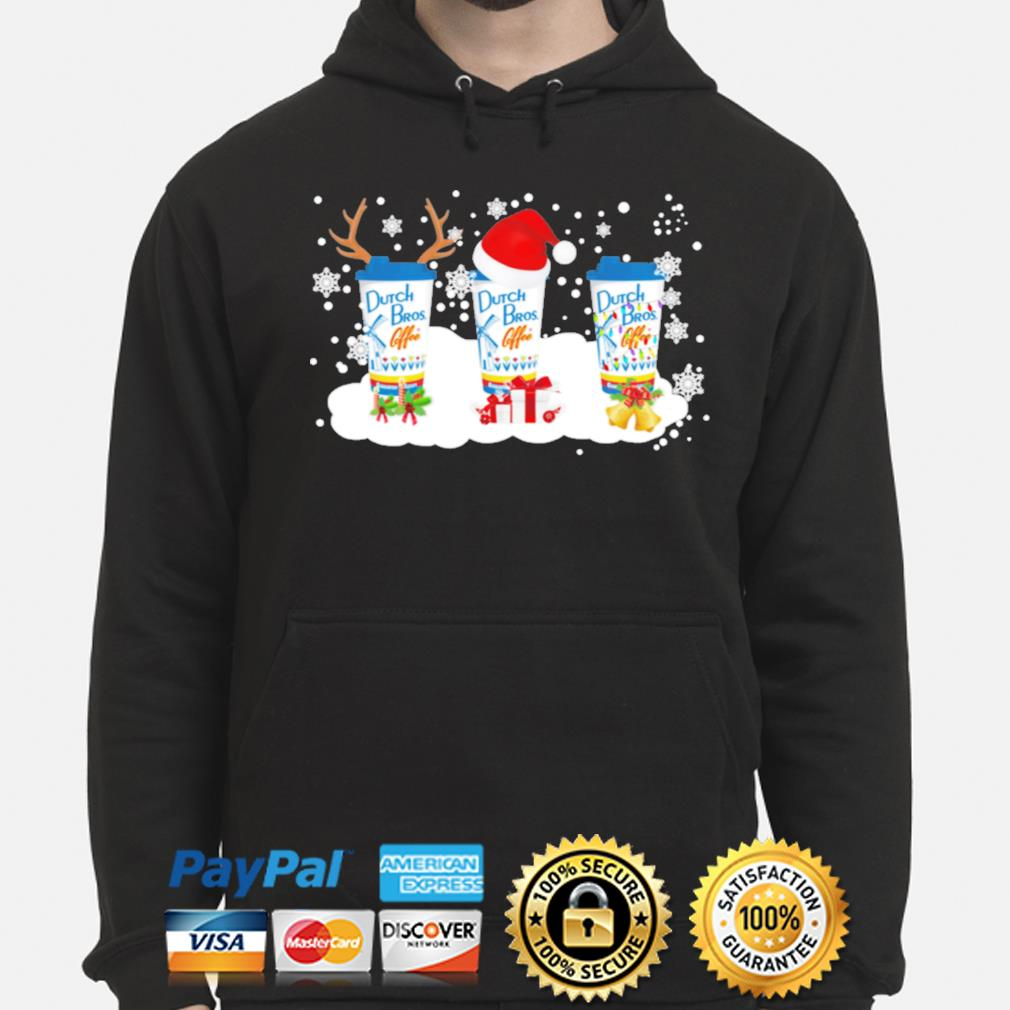 Dutch Bros Coffee Christmas Sweats hoodie