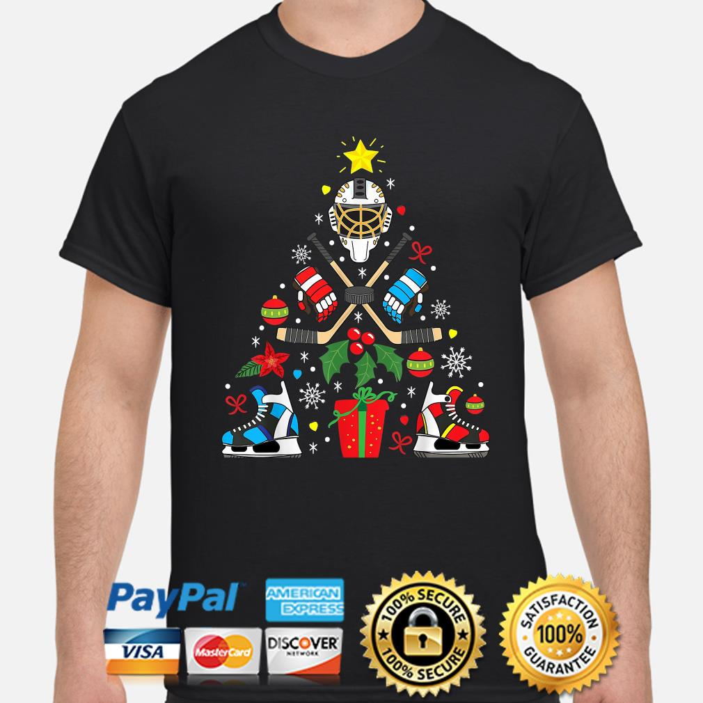 Ice Hockey Christmas Ornament Tree Xmas Christmas shirt