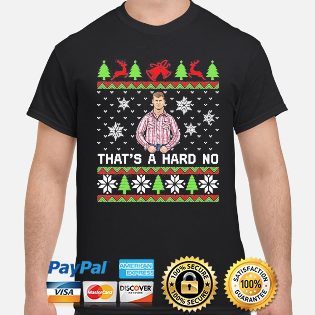 Letterkenny That's a hard no Christmas sweatshirt